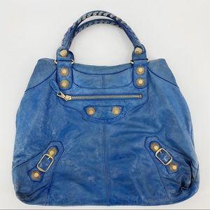 Balenciaga chèvre giant 21 lambskin purse bag